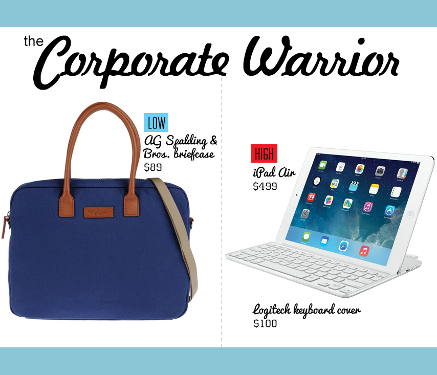 Corporate Warrier gift idea collage