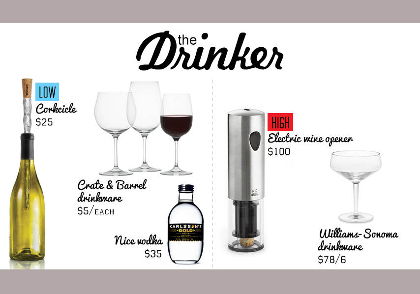 The Drinker gift ideas collage