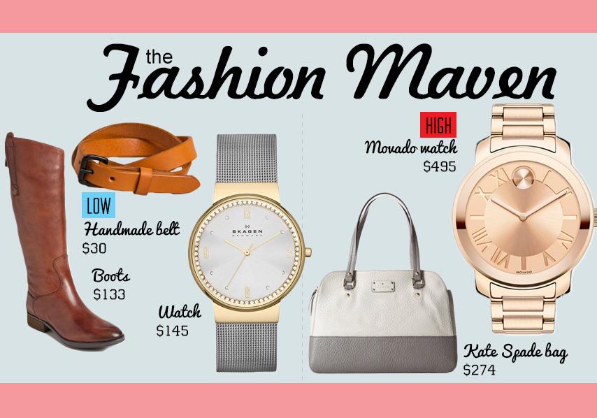 Fashion maven gift idea collage