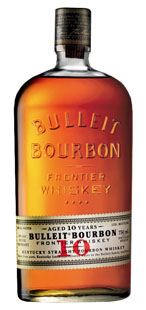 A close up of a Bulleit Bourbon