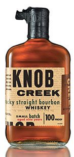 Knob Creek Bourbon Bottle