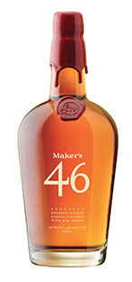 Maker\'s 46 bottle