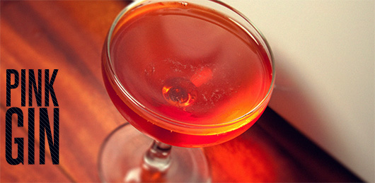 The Pink Gin Cocktail Recipe: A Bitter Herbal Gin Cocktail