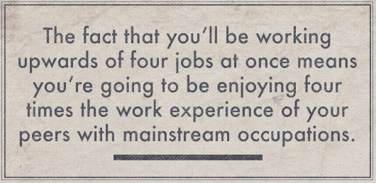 Article Quote Inset - Working 4 jobs at once