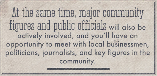 Article Quote Inset - At the same time, major community figures and public officials