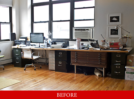 Before photo of office