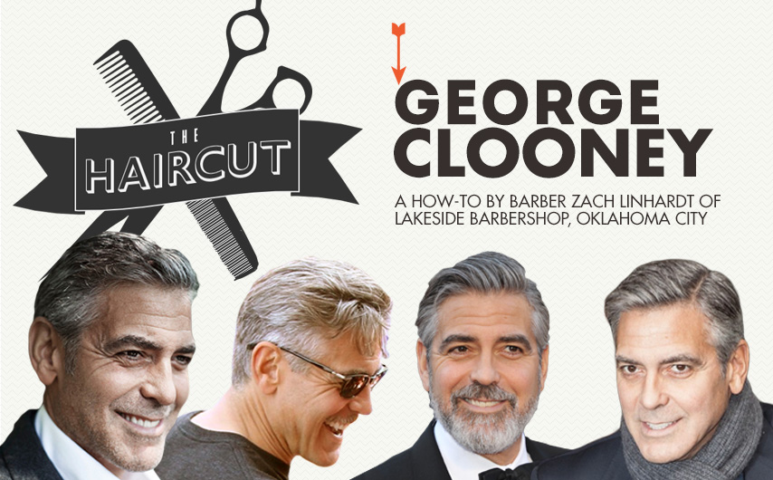 clooney haircut howto