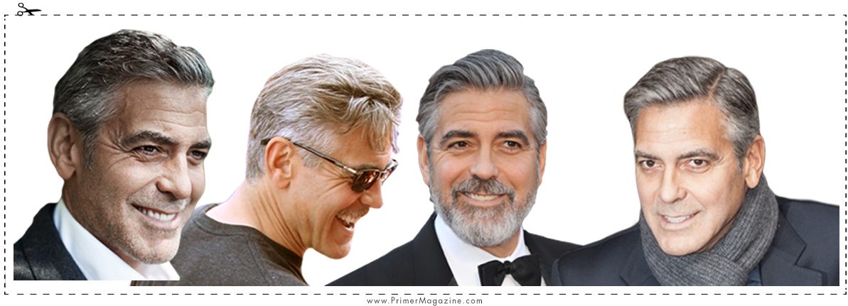 the haircut  george clooney