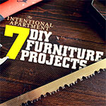 The Intentional Apartment: 7 DIY Furniture Projects