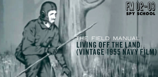 Living Off The Land: Vintage 1955 Navy Training Film