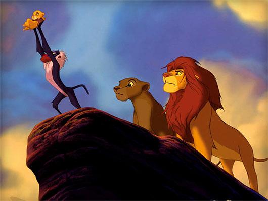 Lion King lions