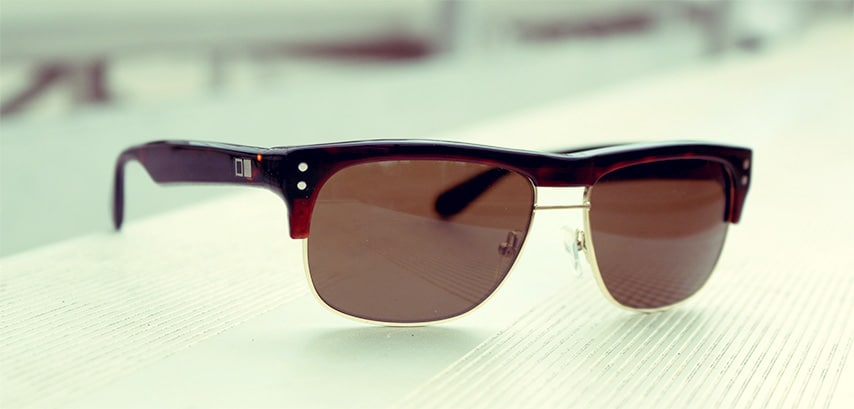 Clubmaster Like Sunglasses  a more modern clubmaster uncommon sunglasses by otis eyewear