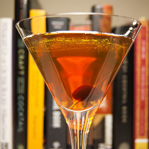 The Smoked Manhattan Cocktail Recipe A Smokey Twist On A Classic Bourbon Cocktail Primer