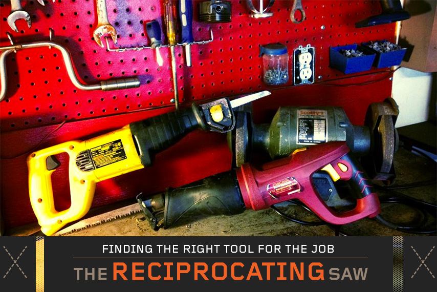 what is a reciprocating saw