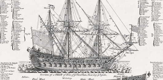 Free Art Download: A Ship of War, of the Third Rate