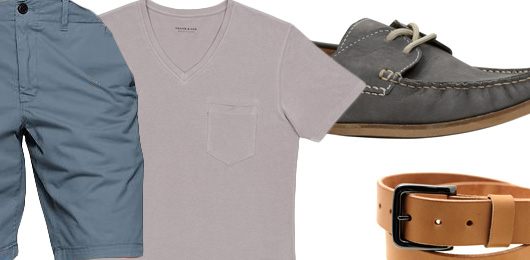 The Getup: T-shirt & Shorts