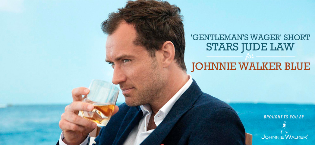 'Gentleman's Wager' Short Stars Jude Law for Johnnie Walker Blue [Sponsored]