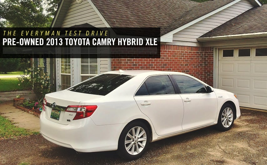 The Everyman Test Drive Pre Owned 2013 Toyota Camry