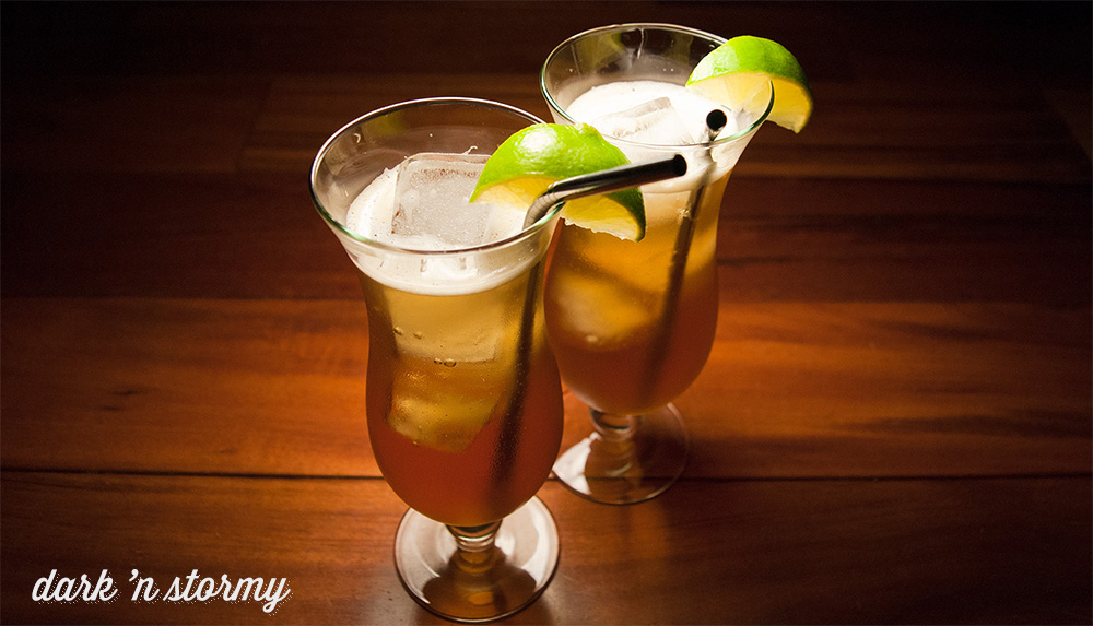The Dark N' Stormy Cocktail Recipe: A Fresh Rum Cocktail