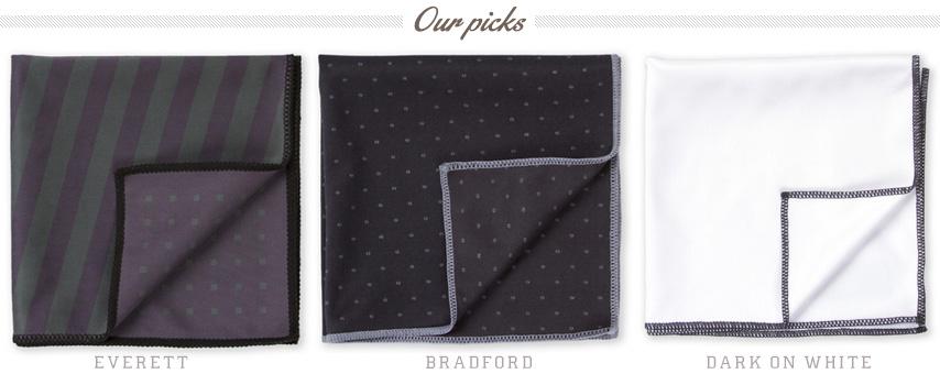 Design and Pattern on pocket squares