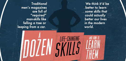 A Dozen Life-changing Skills and How to Learn Them