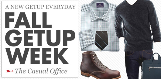 Fall Getup Week: The Casual Office