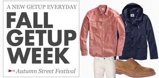 Fall Getup Week: Fall Street Festival