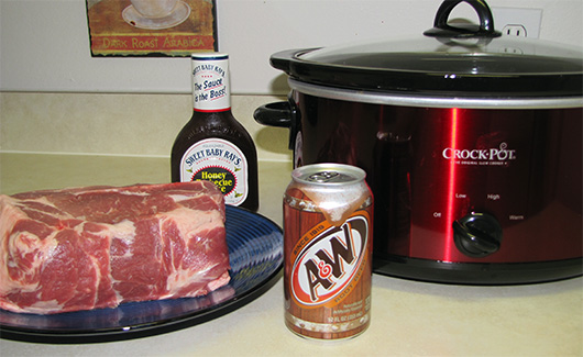 root beer pork slow cooker recipe