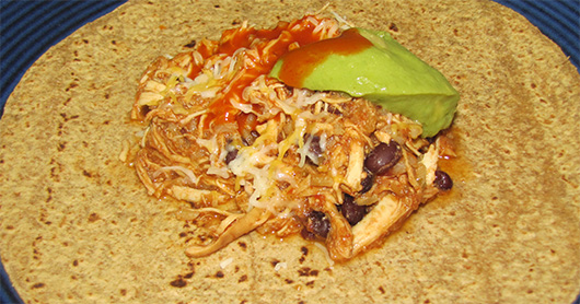 Slow cooker chicken fiesta