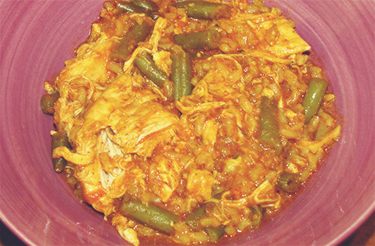 Curry Chicken slow cooker recipe