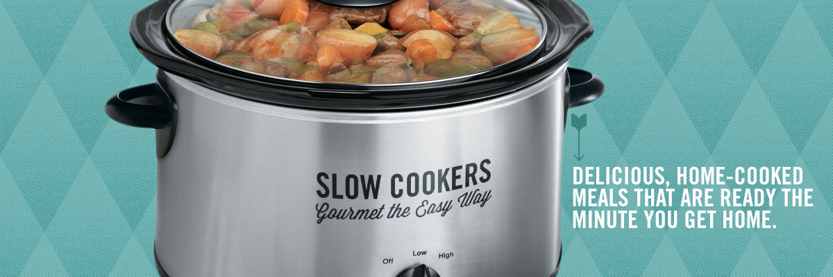 Slow Cookers: Gourmet the Easy Way