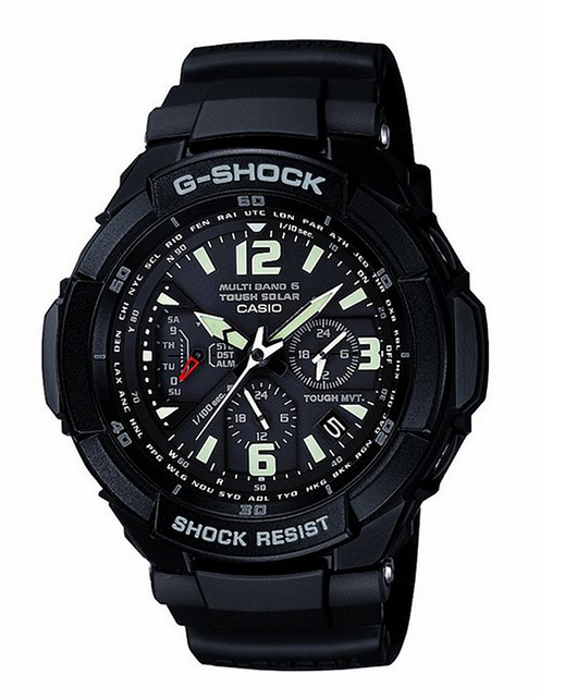 G-Shock atomic black watch