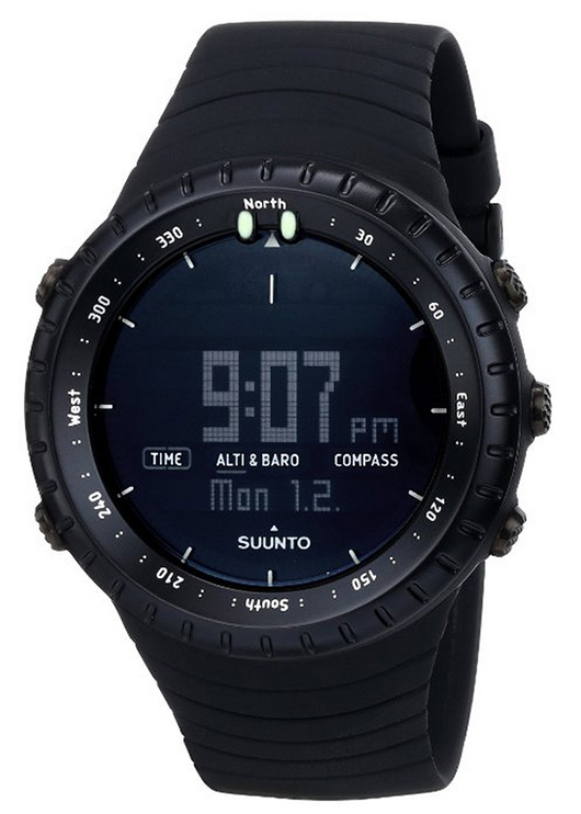 suunto core black watch
