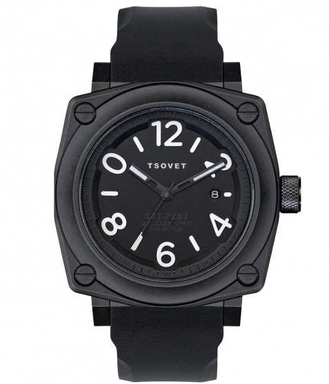 black on black tsvoet watch