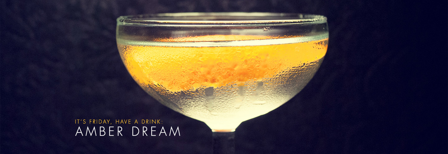 The Amber Dream Cocktail Recipe: A Sweet, Smooth Gin Cocktail