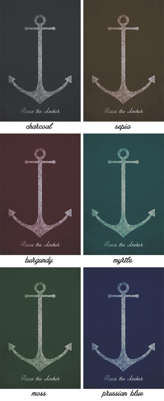 Free Anchor Printable