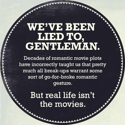 men's break up guide gentlemen quote