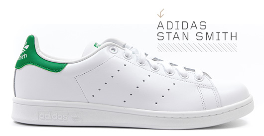 A close up of Adidas Stan Smith
