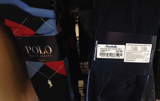 Polo socks at marshalls