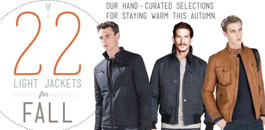 22 Light Jackets for Fall