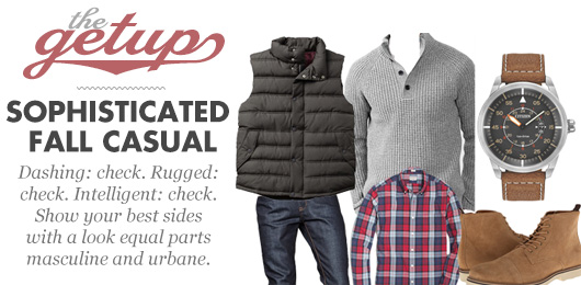 The Getup: Sophisticated Fall Casual
