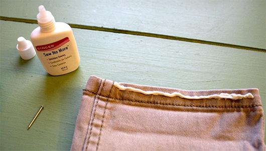 sew no more singer fabric glue
