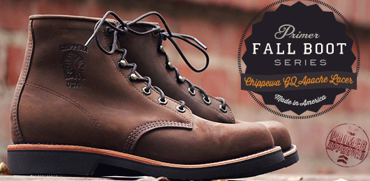 Fall Boot Series: Chippewa GQ Apache Lacer
