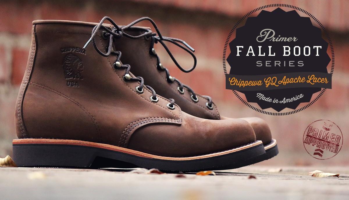 Fall Boot Series Chippewa Gq Apache Lacer Primer