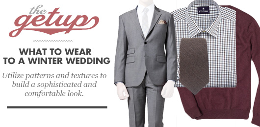 The Getup: What to Wear to a Winter Wedding