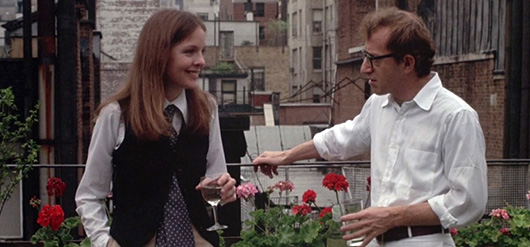 Woody Allen in Annie Hall