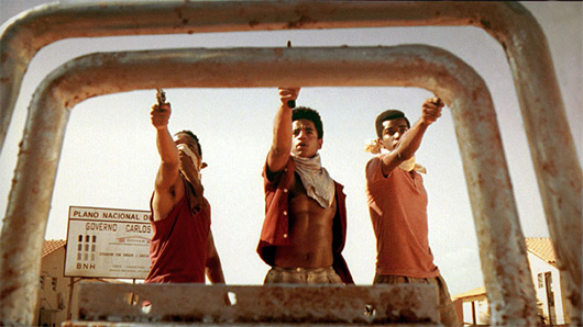 City of God characters holding guns