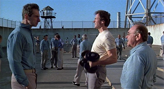 Escape from Alcatraz Clint Eastwood