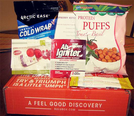 Bulu box items