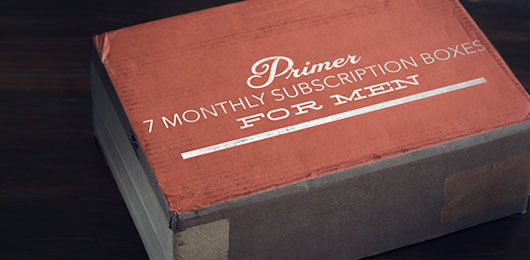 7 Monthly Subscription Boxes for Men